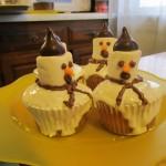 A trio of snowmen
