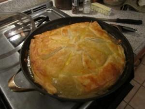 Amy's Skillet Chicken Pot Pie