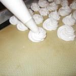 Pipe onto baking sheet