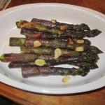 Grilled Purple Asparagus