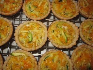 Zucchini Tartlets