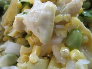 Artichoke and Edamame Salad