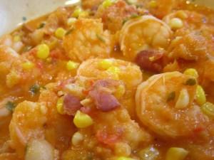 Smoky Shrimp and Corn Soup