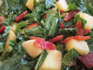 Kale with Apples