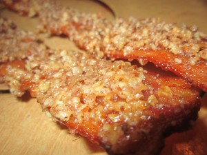Maple Pecan Candied Bacon
