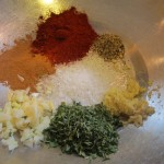 The rub ingredients