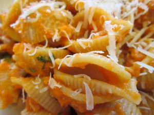 Pasta with Carrot Sauce