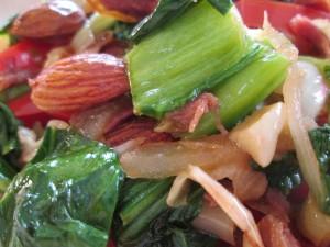 Ham and Veggie Stir Fry