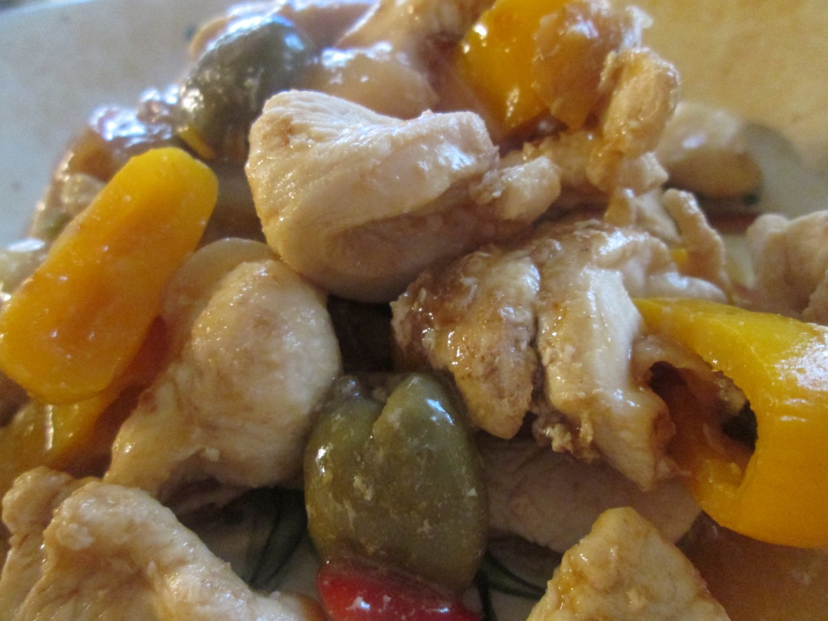 Chicken with Olives | The Charmed Kitchen