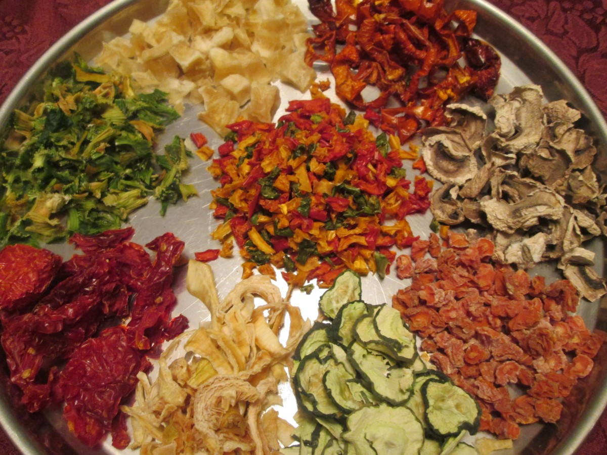 dehydrated vegetables - photo #15