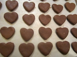 Cocoa Mint Hearts