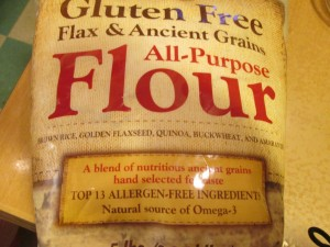 The gluten-free flour I found at Costco