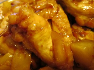 Pineapple Glazed Chicken Wings