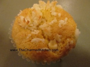 Coconut Orange Cupcake