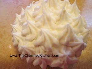 Sour Cream Lemon Cupcake