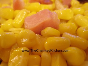 Corn and Ham Saute