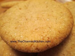 Cinnamon Shortbread Cookies-Gluten Free