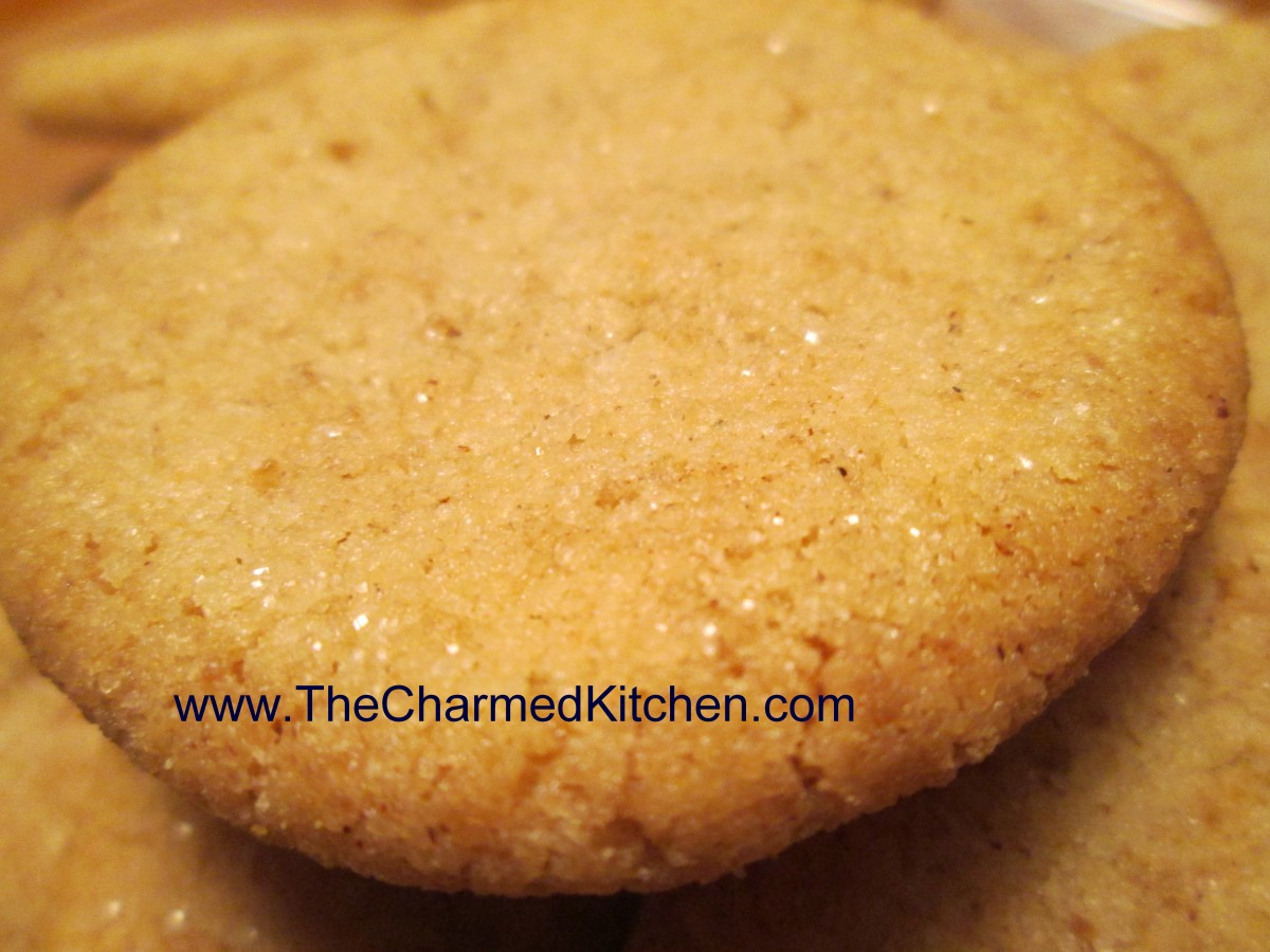 Cinnamon Shortbread Cookies- Gluten Free | The Charmed Kitchen