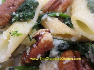Broccoli Rabe with Pasta and Pecans