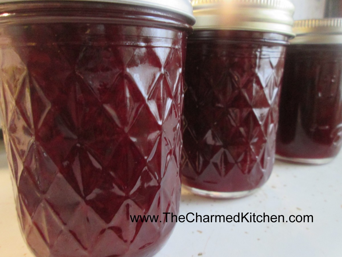 Cherry vanilla jam the charmed kitchen for The charmed kitchen