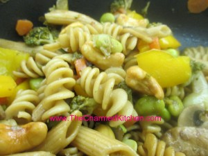 Vegetable and Pasta Skillet Dinner