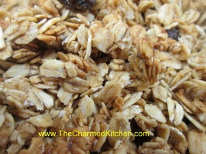 Chestnut School Orange Granola