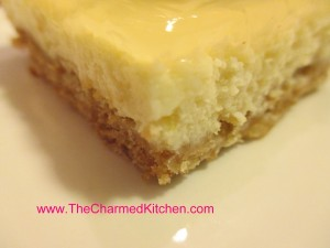 Lemonade Cheesecake Squares