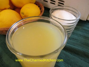 Homemade Lemonade Concentrate
