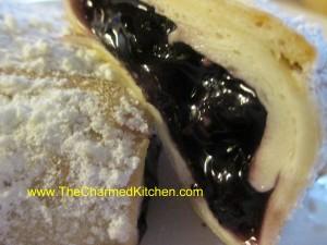 Blueberry Tortilla Blintz