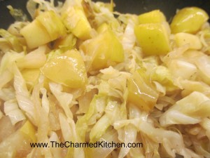 Cabbage with Apples and Pears