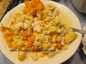 Corn Salad with Mustard Dressing