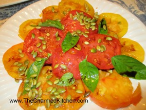 Autumn Tomato Salad