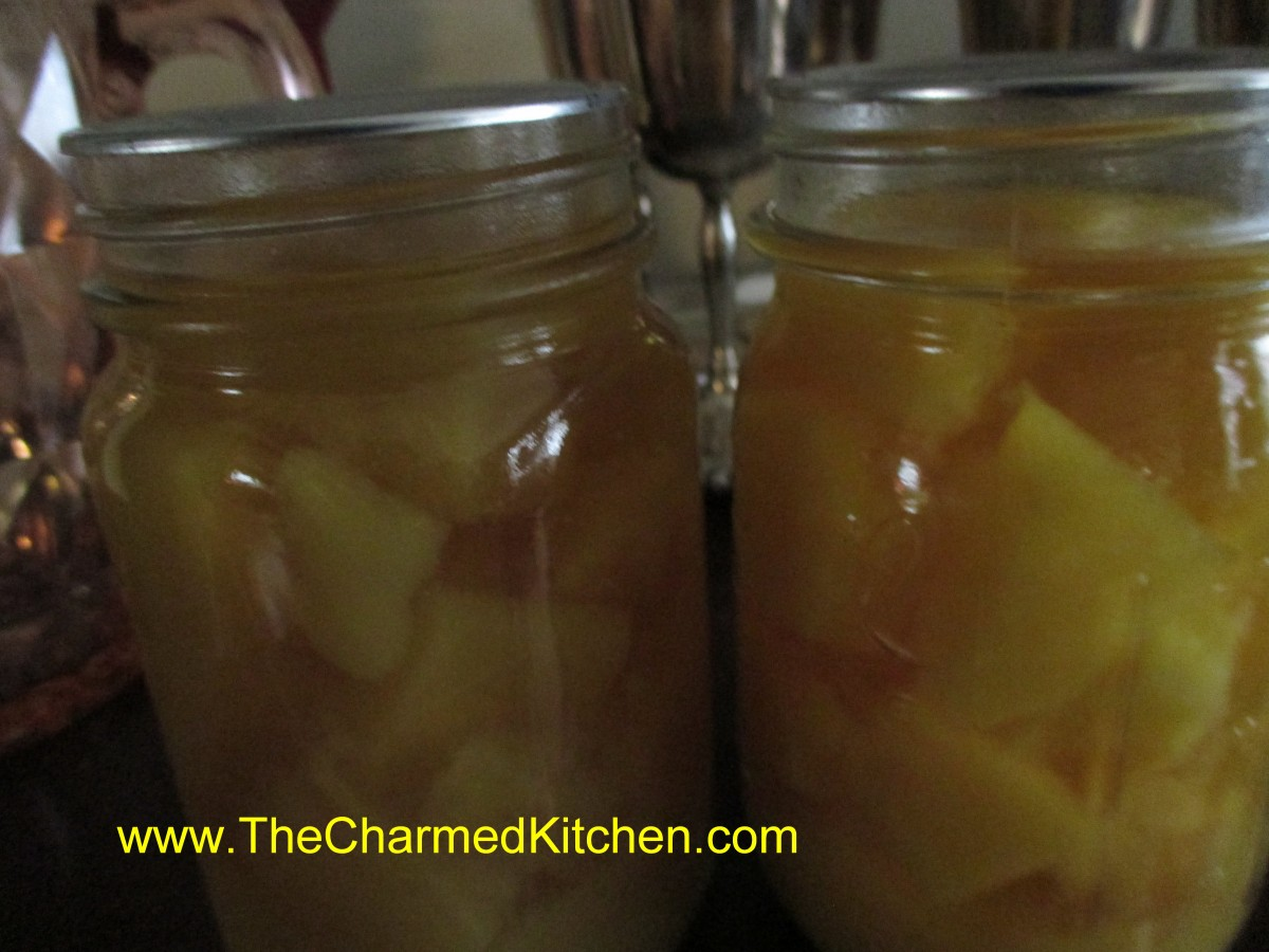 Canning pineapple the charmed kitchen for The charmed kitchen