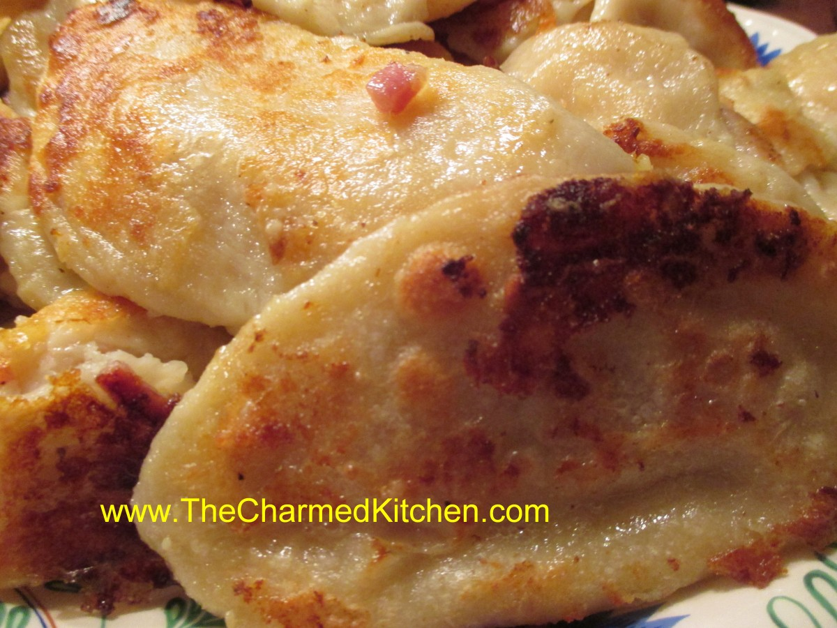 Cheese Pierogi With Potato Filling And Brown Butter