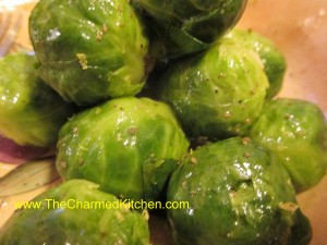 Buttered Lemon Brussels Sprouts