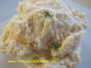 Cheesy Cauliflower Mash