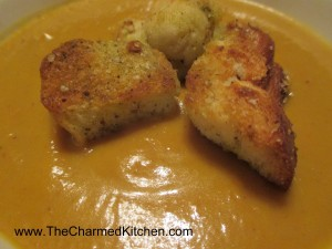 Roasted Curry Cauliflower Soup