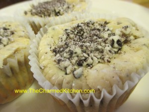 Cookies and Creme Mini Cheesecakes