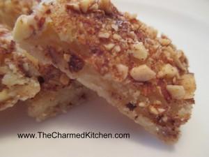 Cinnamon Nut Shortbread Cookies
