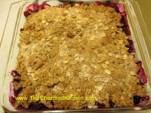 Three Fruit Crumble