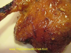 Orange Glazed Duck