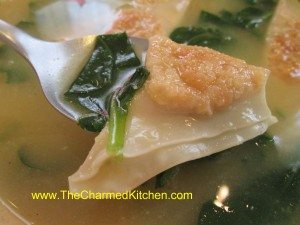 Easy Won Ton Soup
