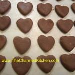 Minty Cocoa Hearts