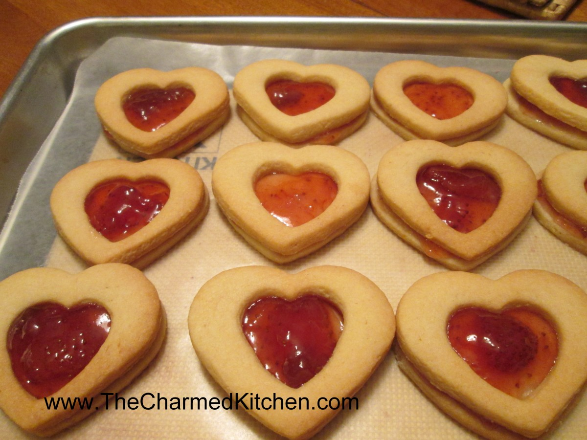 Sweetheart cookies the charmed kitchen for The charmed kitchen