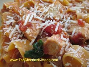 Chicken in Hot Tomato Vinaigrette