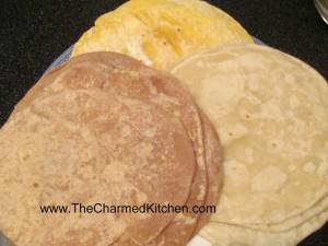 A Trio of Homemade Tortillas