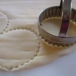 Cut out pie dough