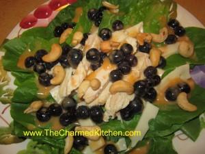 Blueberry Chef Salad