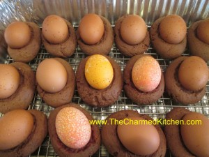 Chocolate Easter Egg Biscotti