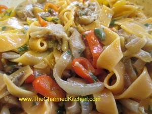 Oyster Mushroom Marsala